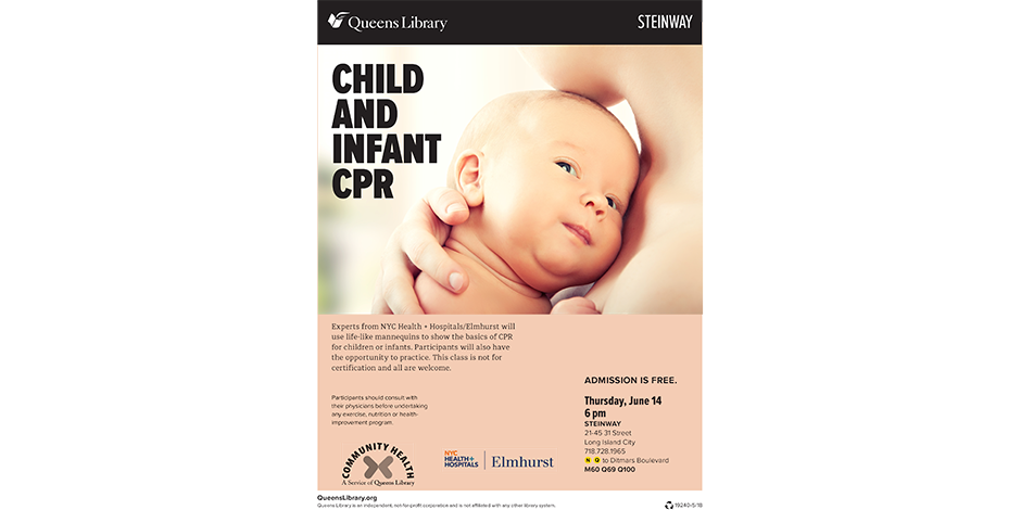 Child And Infant Cpr Nyc Health Hospitalselmhurst