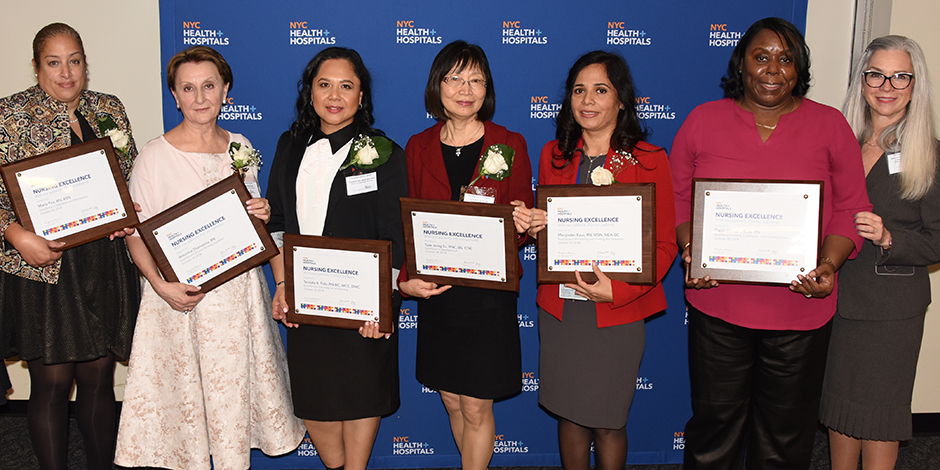 Six Nurses Honored with 2018 Nursing Excellence Awards | NYC Health