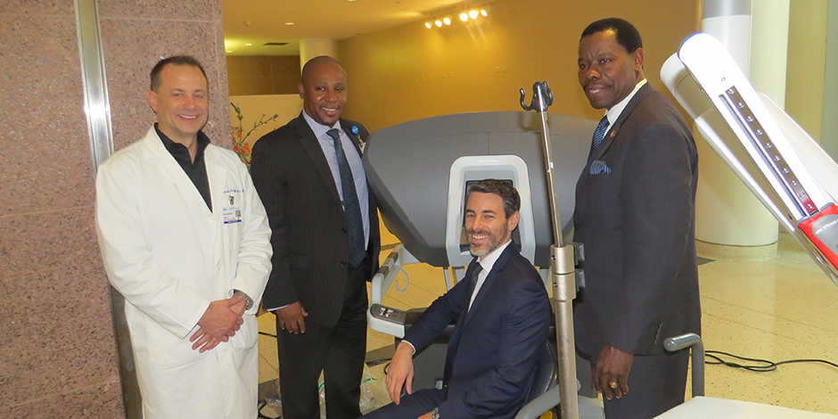 New Robot Increases Options in Gynecologic, Urologic, Thoracic