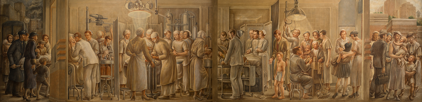 William Palmer, Function of a Hospital, 1934