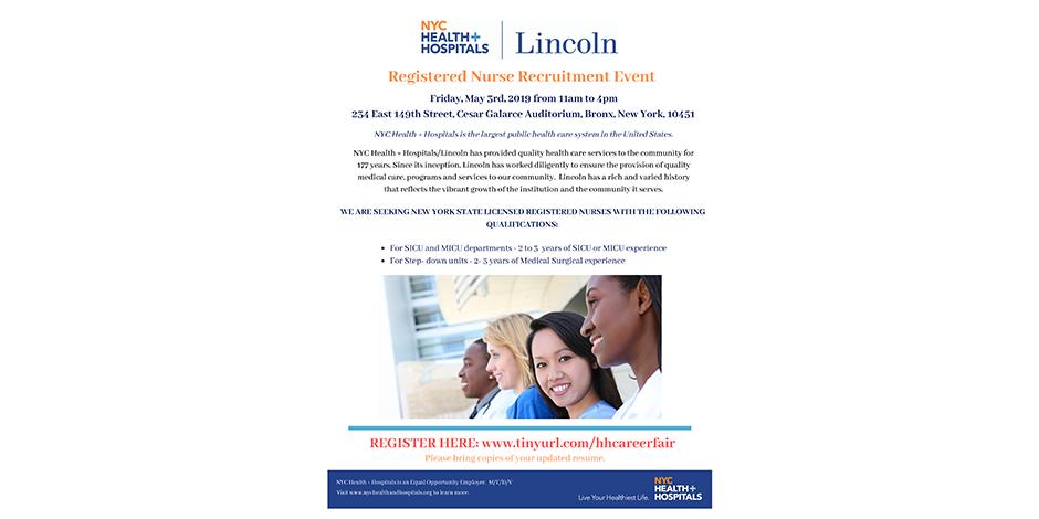 Registered nurse Recruitment Event