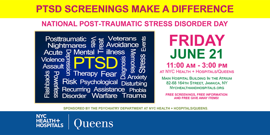 National Post-Traumatic Stress Disorder Day   NYC Health +