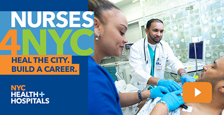 NURSES4NYC   NYC Health + Hospitals