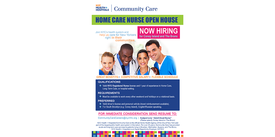 Home Care Nurse Open House
