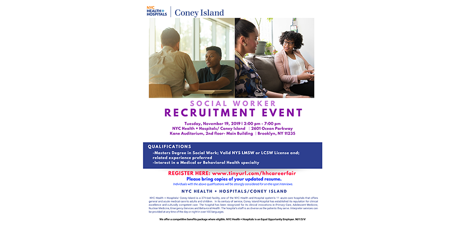 Social Worker Recruitment Event