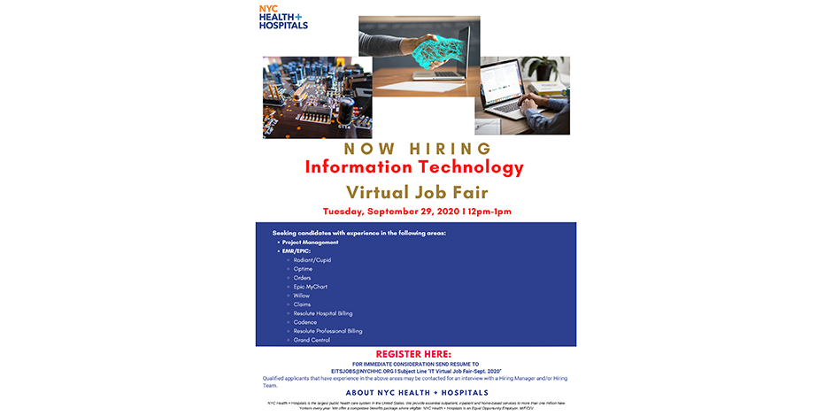 Information Technology - Virtual Job Fair
