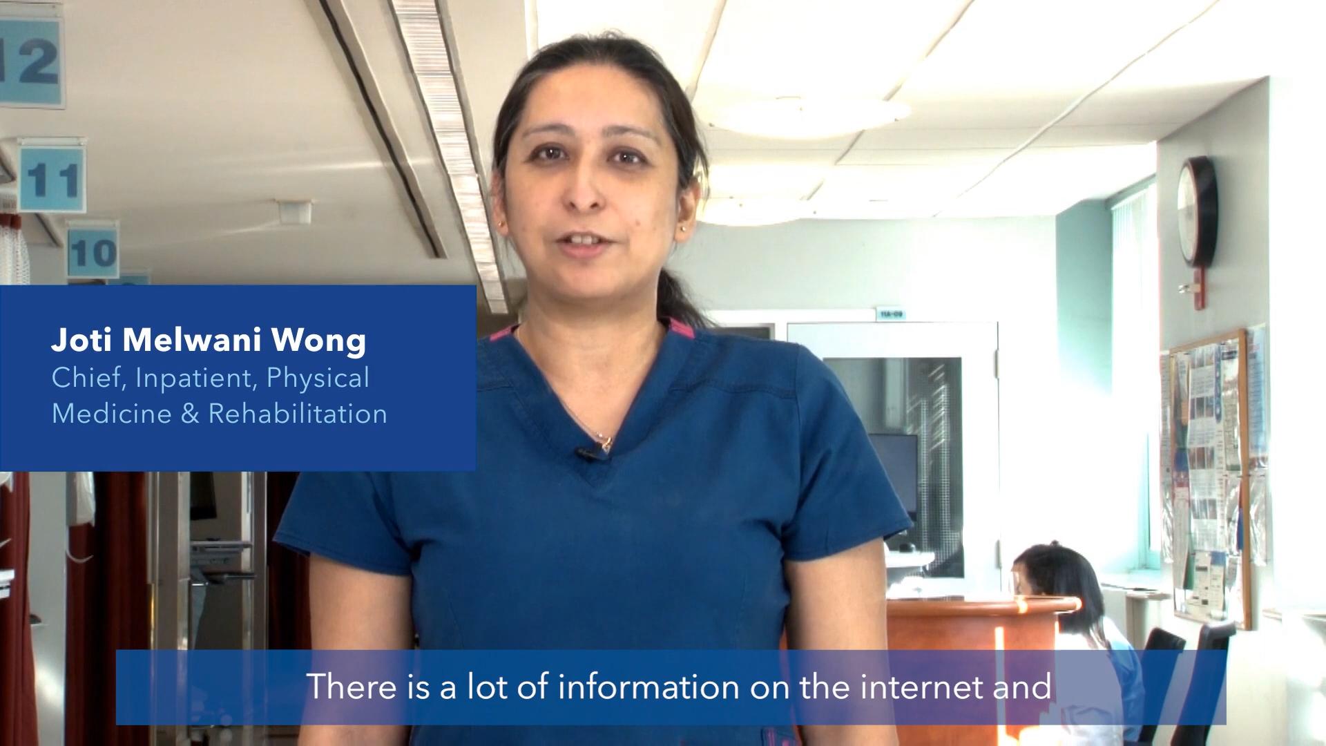 Myth vs Fact Joti Wong