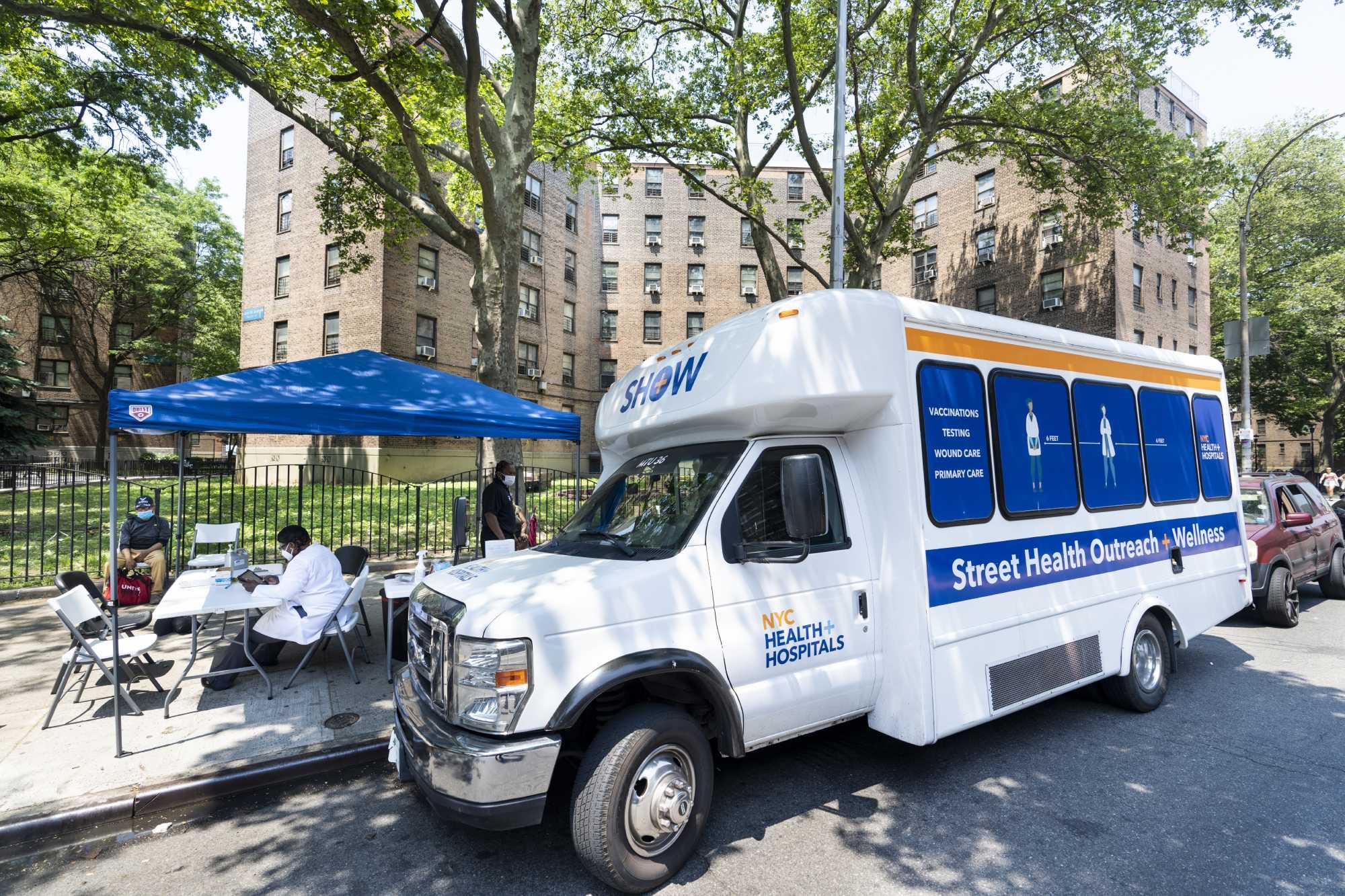 Street Health Outreach & Wellness Mobile Units
